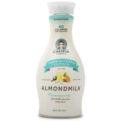 Califia, Unsweetened Vanilla Almond Milk  *GF *L *V