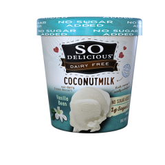 So Delicious, Coconut Milk, Unsweetened Vanilla Bean *V