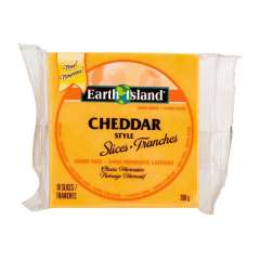 Earth Island, Cheddar Slices *V