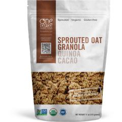 One Degree Sprouted Granola Quinoa Cacao *GF