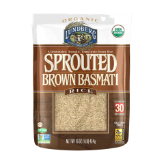 Lundberg Sprouted Organic Rice, Basmati
