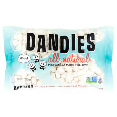 Dandies Natural Vanilla Marshmallows, Mini *GF *V