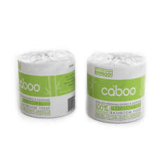 Caboo, Bathroom Tissue paperless wrapped (no plastic)