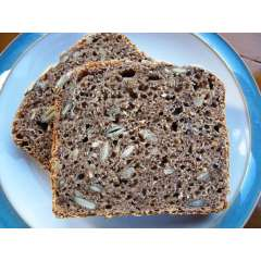 Seeded Organic Buckwheat Sourdough Bread *GF *GR *V