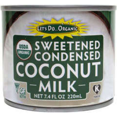 Let's Do Organic, Sweetened Condensed Coconut Milk