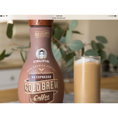 Califia, Cold Brew Almond Beverage *GF *L *V