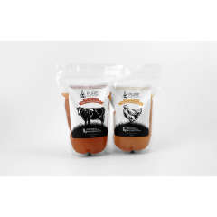 Pure Bone Broth (750ml re-sealable bag)