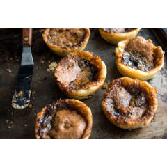 Gooey Gluten Free Maple Butter Tarts *GF