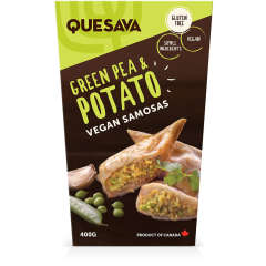 Quesava, Potato Samosas