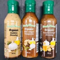 Simply Natural, Organic Salad Dressings