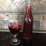 Lemon Ginger Black Currant Kombucha