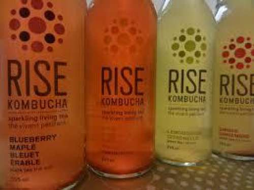 Rise Kombucha, 6/1-L glass bottle (Full Case)